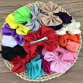 """16pcs/lot 4"""" Big Satin Hairbow for Hair With Clip for baby Girls Hair Accessories Hairpins Ornaments,Buotique Fabric Bows"""