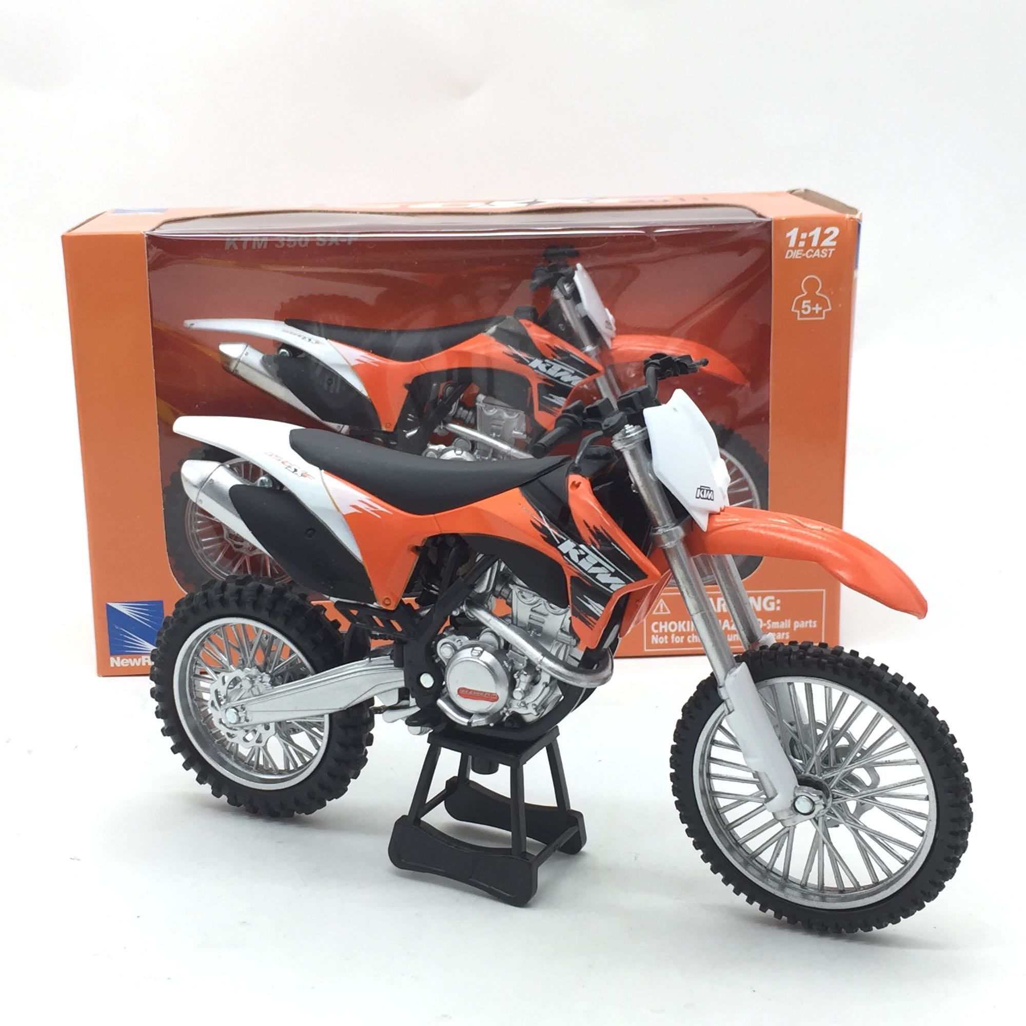 Simulation 1:12 KTM 350SX-F Off-road Motorcycle,die-cast Metal Model,collection Of Toy Car Models,exquisite Gifts Free Shipping