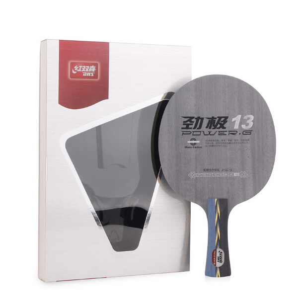 ФОТО [Playa PingPong] Original DHS POWER.G13 (PG13, PG 13) Mono-Carboon OFF++ Table Tennis Blade for Ping Pong Racket