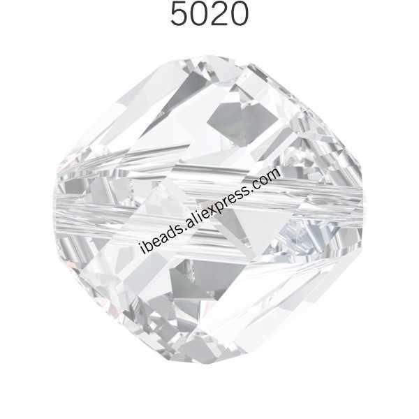 (1 חתיכה) 100% מקורי קריסטל סברובסקי 5020 Helix חרוזים תוצרת אוסטריה loose חרוזים ריינסטון צמיד תכשיטי ביצוע