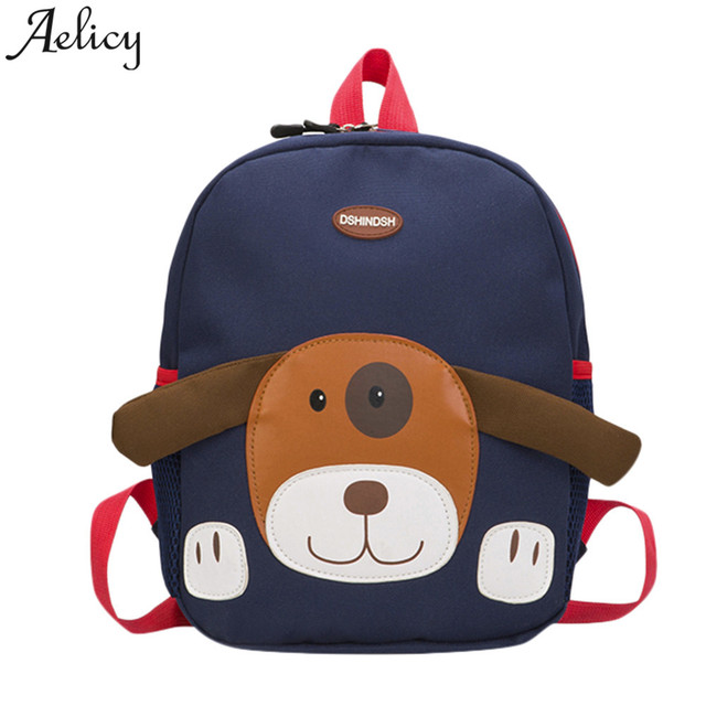ee2fb36d79 Aelicy Dog Pattern Cartoon Backpack Baby mochila infantil Toddler Bag kids  school bag Kindergarten Rucksacks Children s