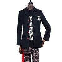 2018 Hot Game Japanese Amine Persona 5 JOKER Star Night Cosplay Costume Custom Made Suits