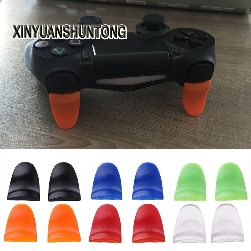 XINYUANSHUNTONG Game Accessory 1 Pair / Set L2 R2 Trigger Extended Buttons Kit For PS4 Controller