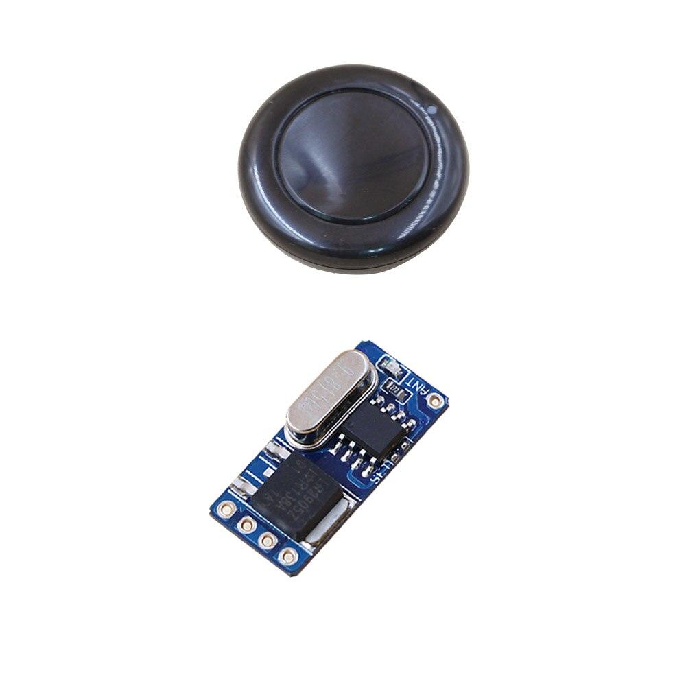 Best Price DC3V 3.6V 5V 6V 7.4V 9V 12V Mini Relay Wireless Switch Remote Control Power Receiver + Transmitter Round 315/433mhz