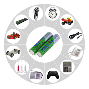 Image 5 - Pack de 2/8 Uds PKCELL AAA batería recargable aaa de 1,2 V Ni MH 850mAh 3A baterías recargables para mandos a distancia de coches linternas