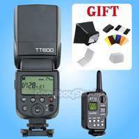 Godox TT600 2.4G HSS Camera Flash Speedlite w/ XT 16 Transmitter for Canon Nik0n