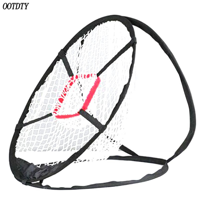 OOTDTY Pop Up Golf Chipping Net Tainer Aid Foldable Target Net For Accuracy Swing Practice-in Golf Training Aids from Sports & Entertainment