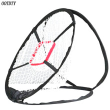 OOTDTY Pop-Up Golf Chipping Net Tainer Aid Foldable Target For Accuracy Swing Practice