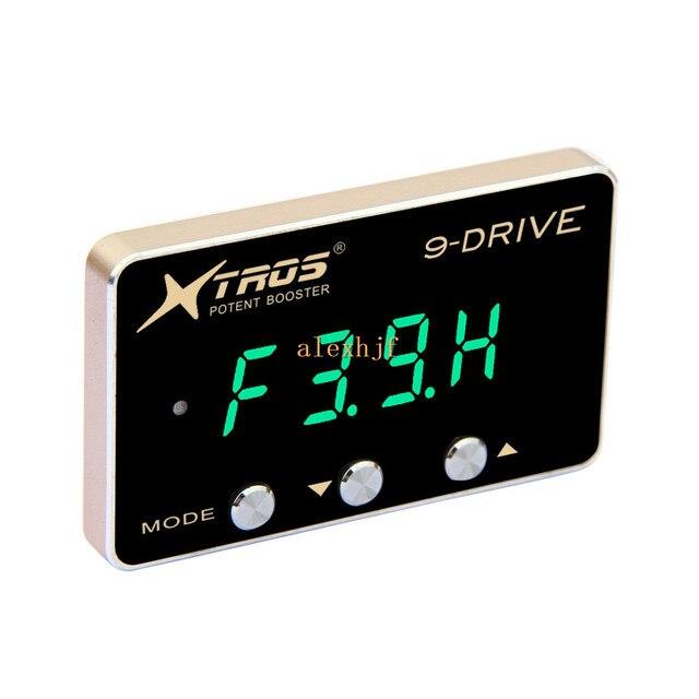 TROS 8-й 9-Drive Электронный Контроллер Дроссельной Заслонки для Ford Raptor F550 Фокус E350 E350 F150 EDGE Escape Explorer Mazda 5 6