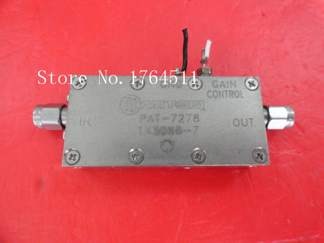 [BELLA] The Supply Of MITEQ PAT-7278-143086-7 Amplifier SMA