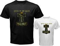 BLS BLACK LABEL SOCIETY Order Of The Black Men S White Black T Shirt Size S