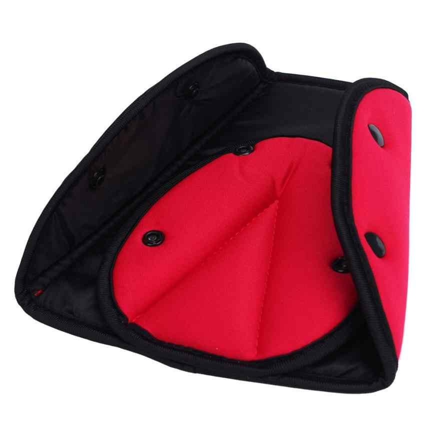 อุปกรณ์เสริมรถเด็กความปลอดภัยสายคล้องคอ Adjuster Pad Harness Seat Belt Clip Oxford ผ้ารถจัดแต่งทรงผมรถจัดแต่งทรงผม