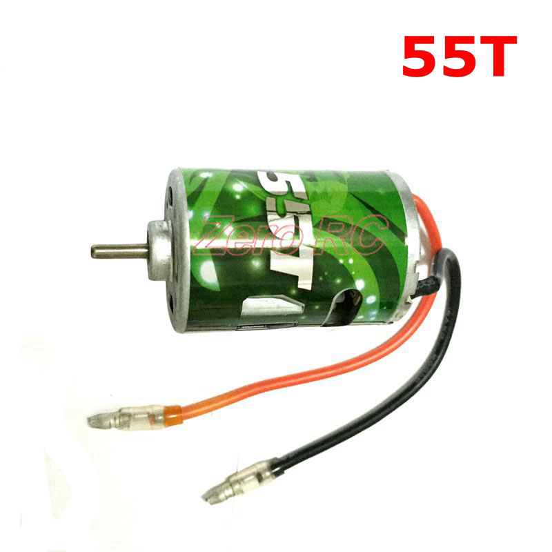 Image 2 - 1/10 CROSS RC 540 Brush Electric Motor With Line 27T 35T 45T 55T For Scx10 RC4 Crawler RC-in Parts & Accessories from Toys & Hobbies