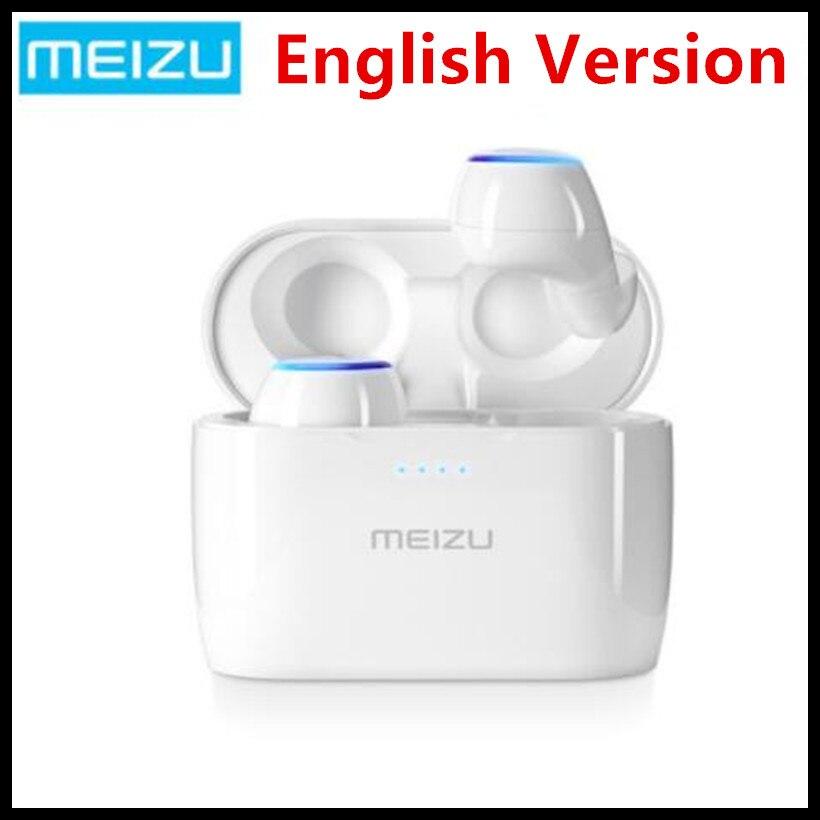 (На английском языке) Оригинал Meizu поп TW50 True Беспроводной Bluetooth наушники мини СПЦ Спорт гарнитура для Xiaomi iphone 7 8 плюс samsung