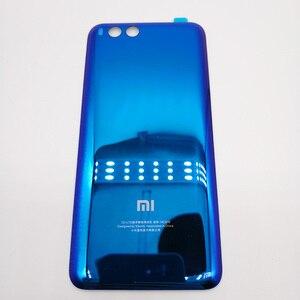 Image 4 - Funda Original xiaomi mi6 mi 6, carcasa trasera con batería, carcasa de cristal 3D, carcasa trasera de repuesto para xiaomi mi 6