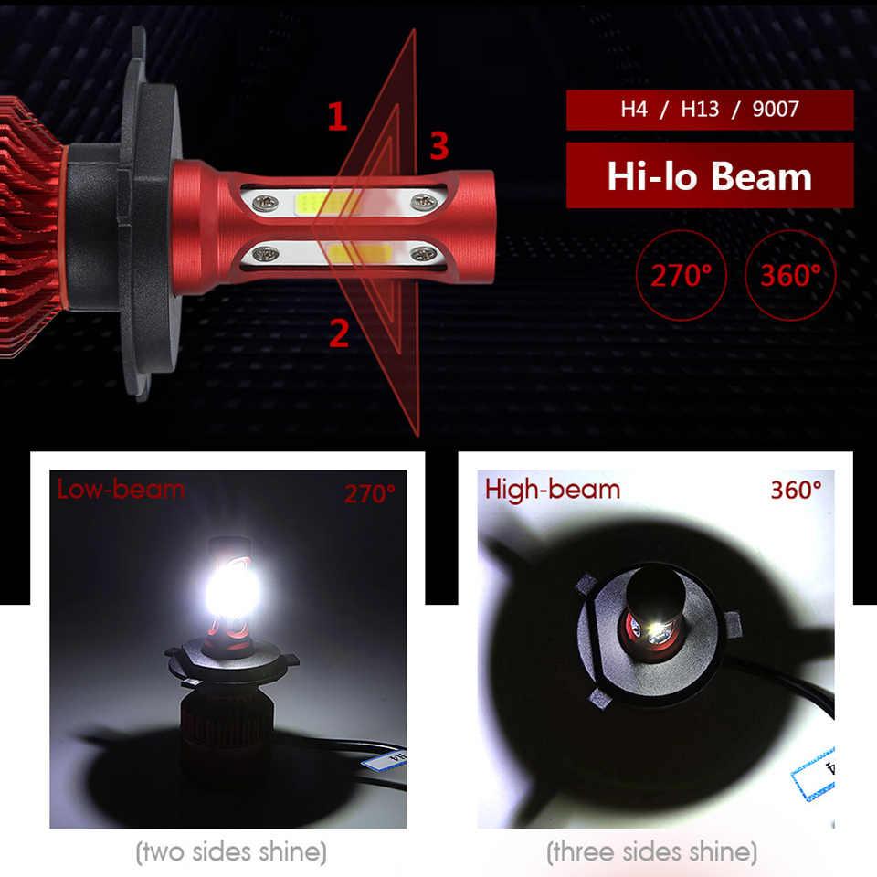 Oslamp NEW H4 LED Headlights H7 H11 H1 H3 9012 9005 9006 COB Auto Headlamp 6500K/4300K 9007 H13 LED Car Light Bulbs 60W 7000lm