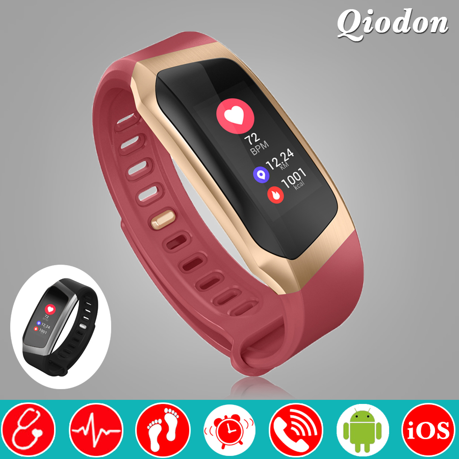 Fashion Women Color Screen Bluetooth Smart Watch Clock Smartwatch Heart Rate Blood Pressure Monitor Fitness Watch Android iOS