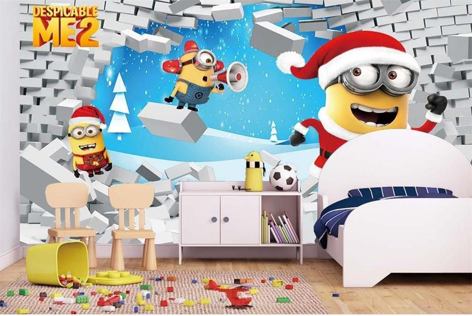 Download Free Minions Christmas Wallpapers For Your Mobile Phone 960x642