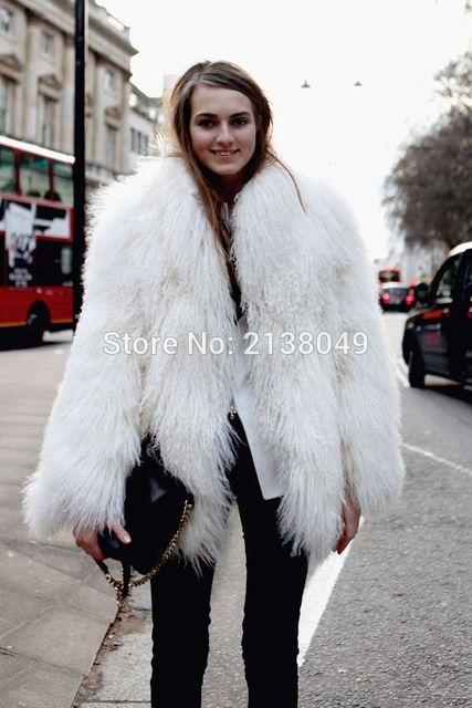 c1b58bf1e3df2 SF0087 Hot Sale Women Winter Real Fur Coat Mongolian Lamb Fur Women Coats