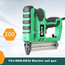Professional Electric Nail Gun FUJ-DDQ-KD30 F30 Straight Nail Gun Woodworking Nailing Tools 200 Pieces / min AC198v-242v / 50Hz