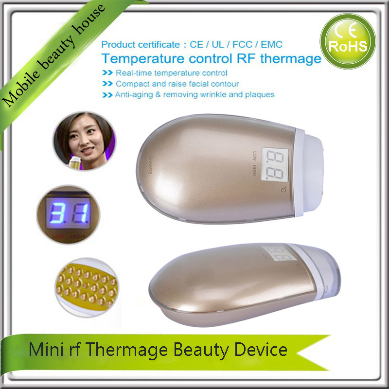 LCD Smart Temperature Control Vibration RF Radio Frequency Skin Tightening Wrinkle Remover Fat Burning Facial Massager Machine комплект 50 пультов rf lcd
