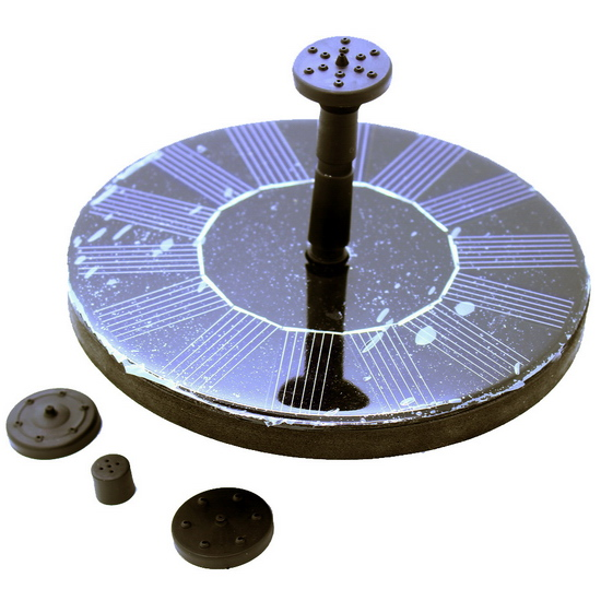 Solar Floating Fountain Self Contained Pump Water Feature In Garden Sprinklers From Home On Aliexpress Alibaba Group