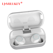 TWS 5.0 Wireless Bluetooth Earphone Stereo Earbud Headset With Charging Box For All Bluetooth tablet Smart phone earphone YZ261 tws 5 0 wireless bluetooth earphone stereo earbud headset with charging box for all bluetooth tablet smart phone earphone yz268