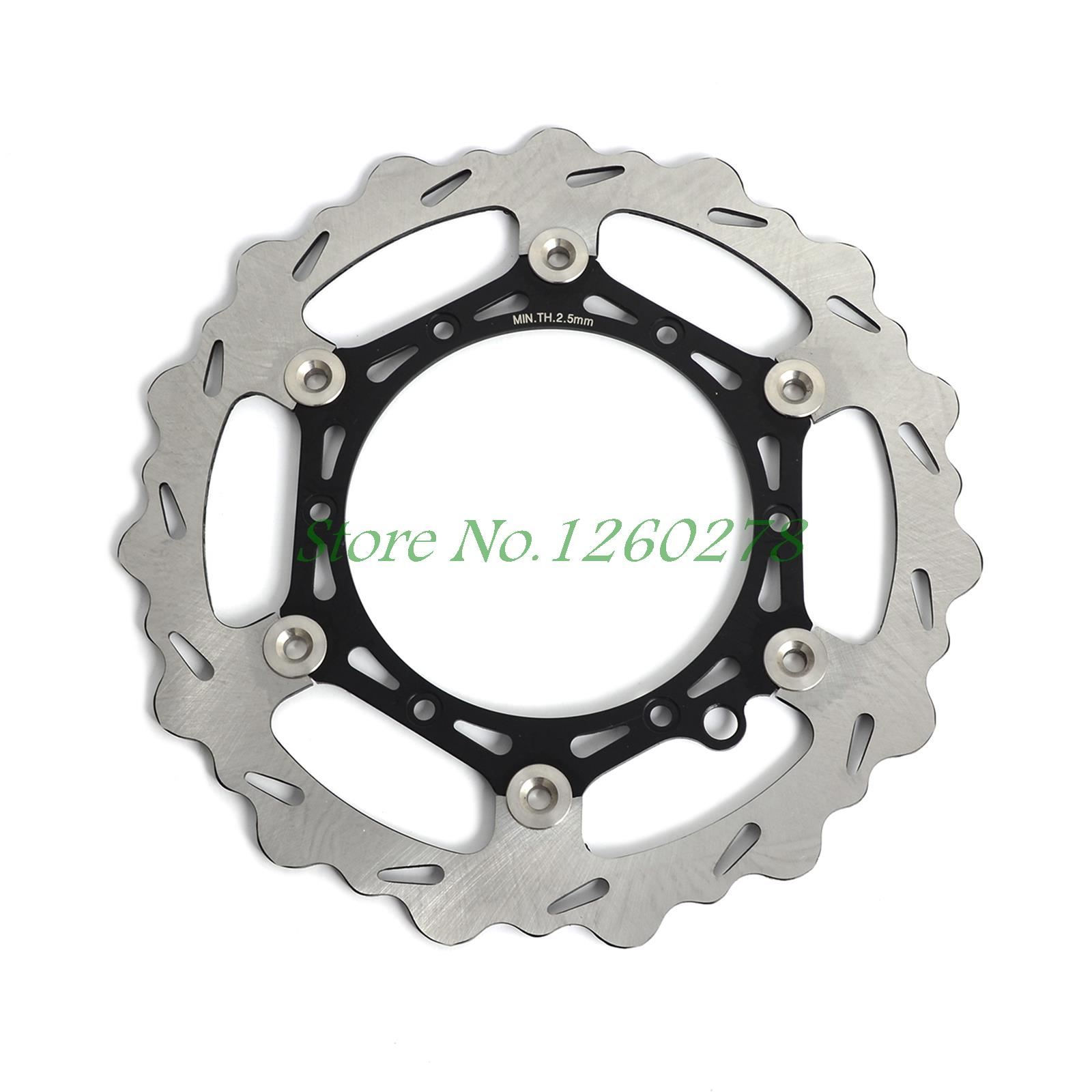 270mm Oversize MX Brake Disc Rotor For Husqvarna TE/TC 125-300, FE/FC 250-501 2014-2015 high quality 270mm oversize front mx brake disc rotor for yamaha yz125 yz250 yz250f yz450f motorbike front mx brake disc