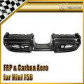 Para Mini JCW F56 Estilo Fiber Carbon Rear Difusor Car Styling