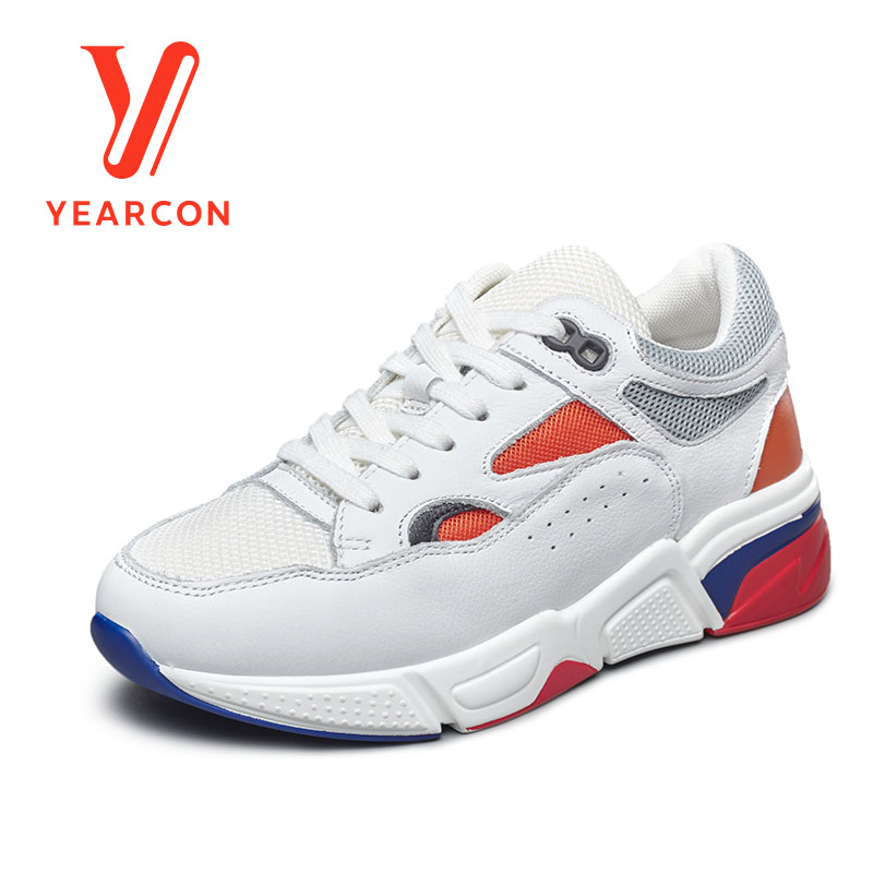 Yearcon women's vulcanize shoes for casual sport athletic fashion sneaker flats shoes 9161ZD49312W