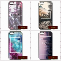 The 1975 Band Logo Phone Cover case for iphone 4 4s 5 5s 5c 6 6s plus samsung galaxy S3 S4 mini S5 S6 Note 2 3 4 DE1104