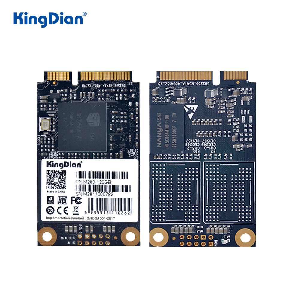 KingDian SSD Msata 120gb 240gb 480gb Msata To SATA SSD 32gb 60gb Internal Solid State Drive Hard Disk For Desktop