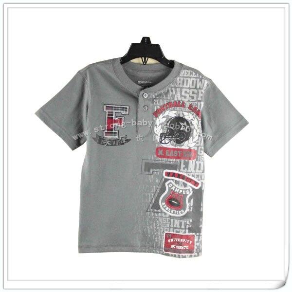 Children's clothing cotton child 100% male short-sleeve summer male child 100% cotton