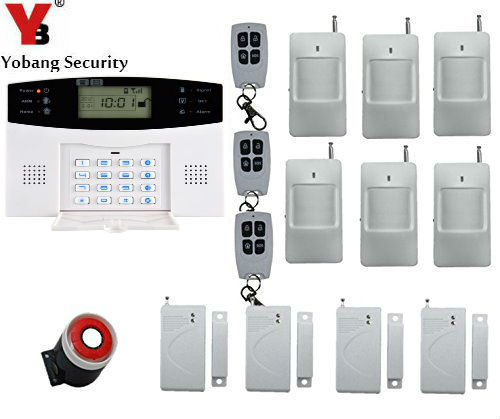 Yobang Security Home Security System Auto Dialer PIR Motion Sensor,House intelligent Burglar Security Alarm System yobang security wireless alarm house home security system sms auto dialer gsm alarm system with pir motion sensor smoke detector