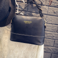 2016 Luxury Brand Women Leather Handbags Crossbody Bag Over Shoulder Shell Vintage Female Bolsas Small Black Messenger Zipper