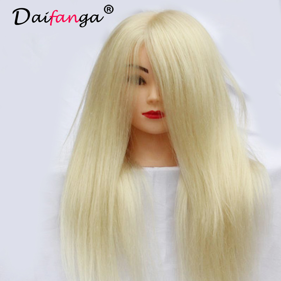 real hair styling professional hair styling manikin with human 4807
