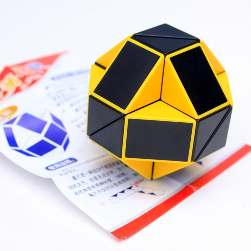 ShengShou Magic Snake  Cube Ruler Neo Cubo Magico 24 Blocks Stess Cube For Antistress Toy Stressrelief Cube Puzzle Desk Toy