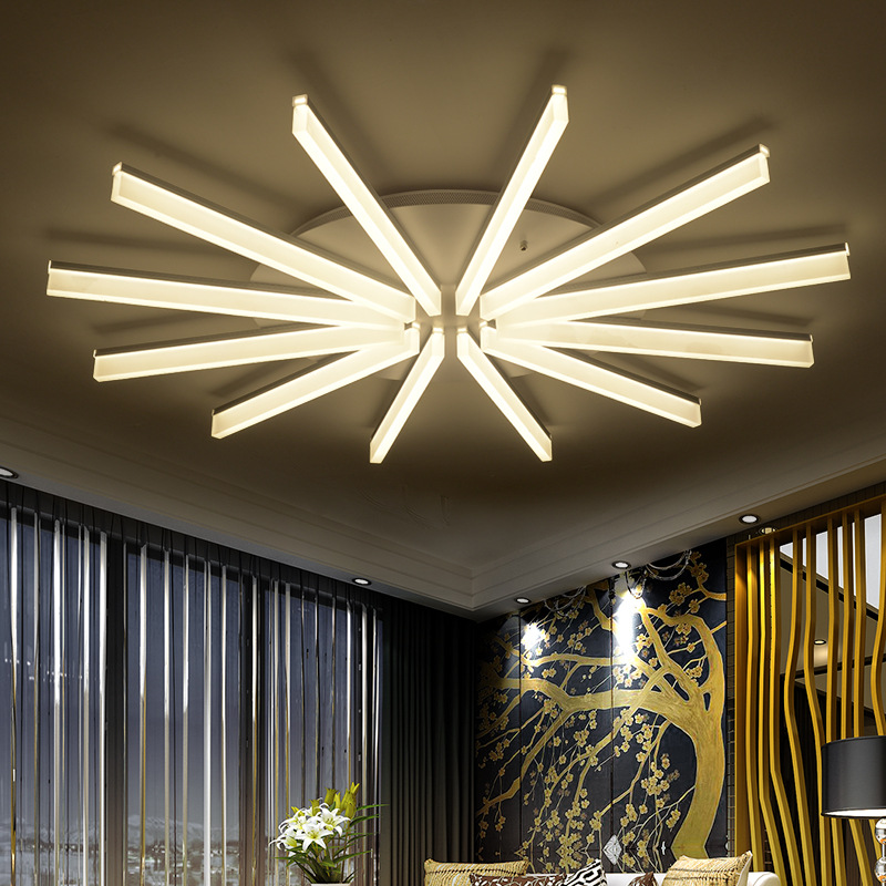 Modern minimalist creative living room led ceiling lamp led bedroom light restaurant lamp fashion lighting personality fixture nordic stars led atmospheric living room lighting modern minimalist restaurant bedroom lamp creative fashion ceiling lamp led