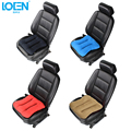 2017 New Loen Elastic suede Lumbar Back Support Cushion car seat covers auto office Travel Seat Chair car styling seat cushion