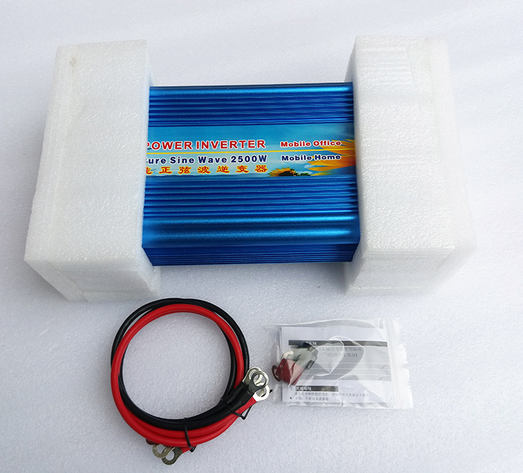 цена на DC to AC Converter Off Grid Pure Sine Wave Power Inverter Generator (2500w 12v 120v)