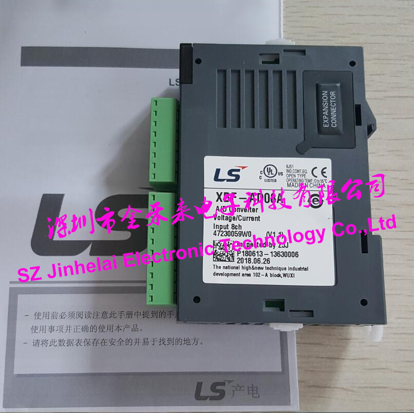 100% New and original XBF-DC04A LS(LG) PLC Analog output module new original 1794 oe4 plc analog output module 4 single ended outputs