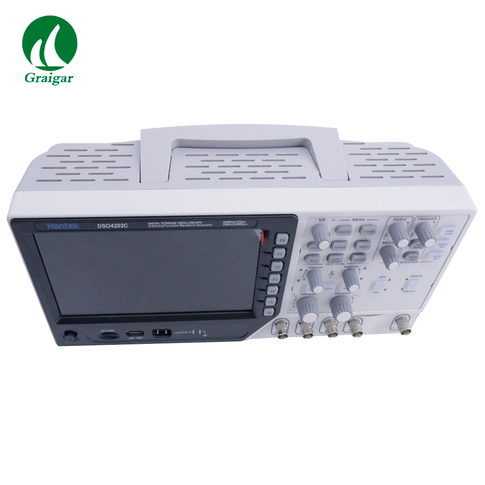Hantek DSO4202C 2 Channel Digital Oscilloscope DSO4202C 1 Channel Arbitrary/Function Waveform Generator image