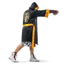 Боксерский костюм для взрослых Чемпион боксер халат золотой пояс костюмы косплей игра бокс форма для матча карнавал Хэллоуин косплей