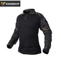 IDOGEAR Ghillie costume Combat G3 chemise tactique chasse Airsoft vêtements militaire Camouflage Multicam noir 3101