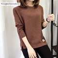 DRL Brand 2017 Long-sleeve basic shirt short design sweater female loose pullover sweater top thickening outerwear women's