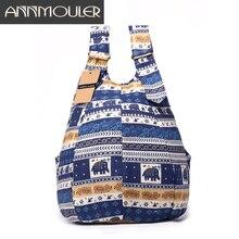 Fashion Backpack Mochila Cotton Fabric Women Bag Bolsas Large Capacity Shoulder Bag Floral Print School Bag for Teenager Girls