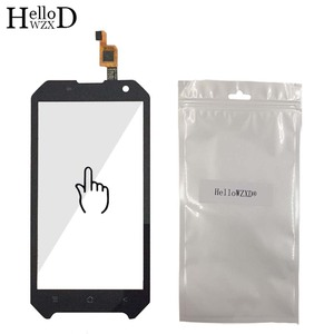 Image 5 - Mobile Front Touch Glass For Blackview BV6000 BV 6000 Lens Sensor Touch Screen Digitizer Panel Adhesive + Screen Protector Gift