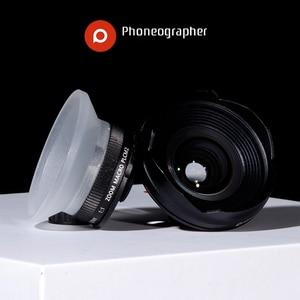 Image 4 - Phoneographer Lente Mobile Esterno ad alta definizione SLR set di mirror cellulare universale obiettivo Macro Lens wide angle lens