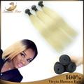 7A virgem de alta qualidade cabelo em massa para trança 100% brasileiro cabelo virgem Remy extensão do cabelo 3 Pcs 613 cor