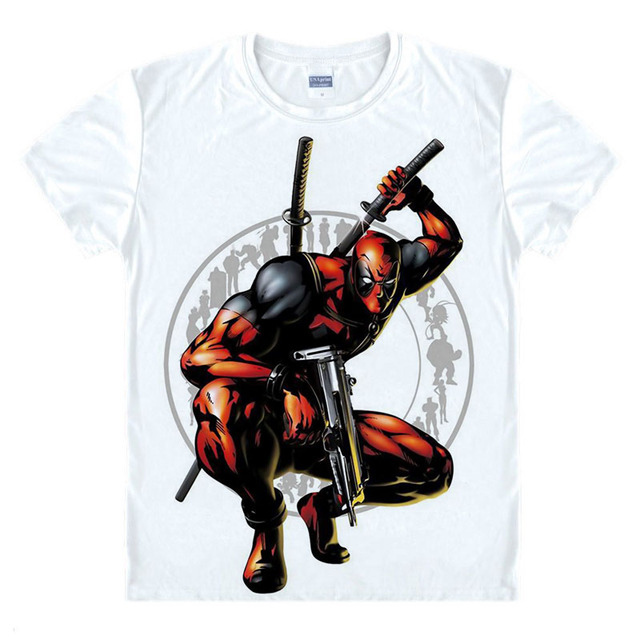 Slim Deadpool T-shirt
